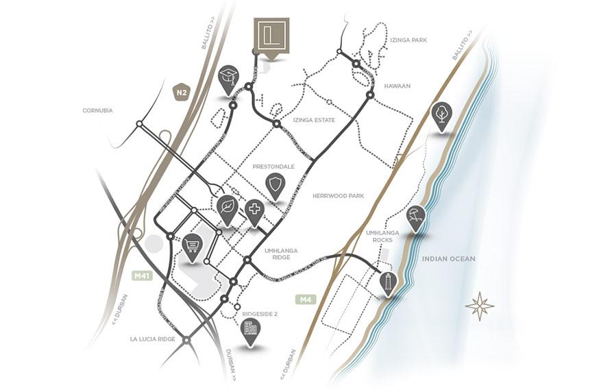 Le Parc Locality Map